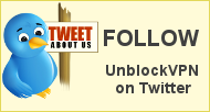 Follow Unblock VPN on Twitter